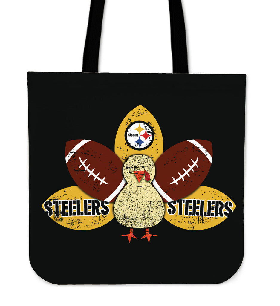 Thanksgiving Pittsburgh Steelers Tote Bags - Best Funny Store