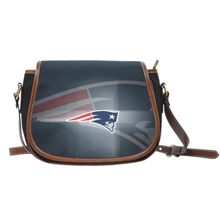 New England Patriots Light Logo Saddle Bags