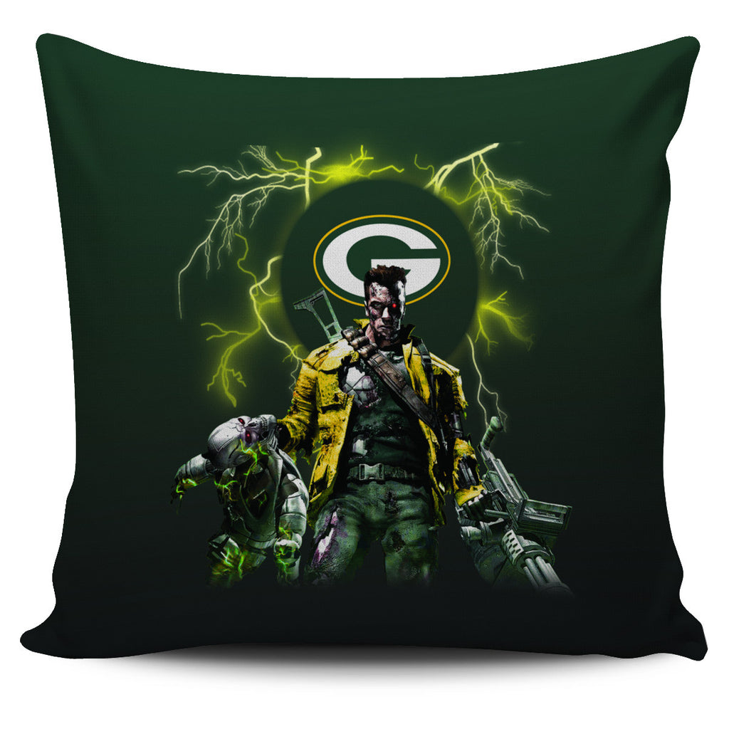 Guns Green Bay Packers Pillow Covers - Best Funny Store