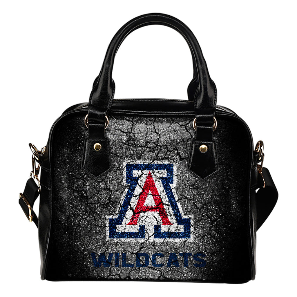 Wall Break Arizona Wildcats Shoulder Handbags Women Purse