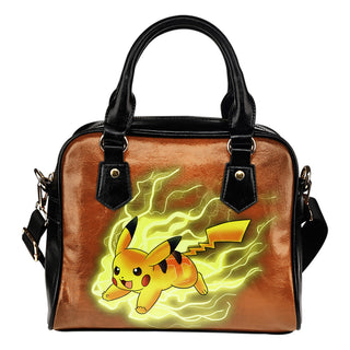 Pikachu Angry Moment Tennessee Volunteers Shoulder Handbags