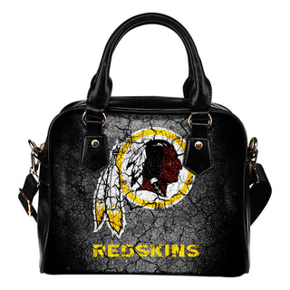 Wall Break Washington Redskins Shoulder Handbags Women Purse