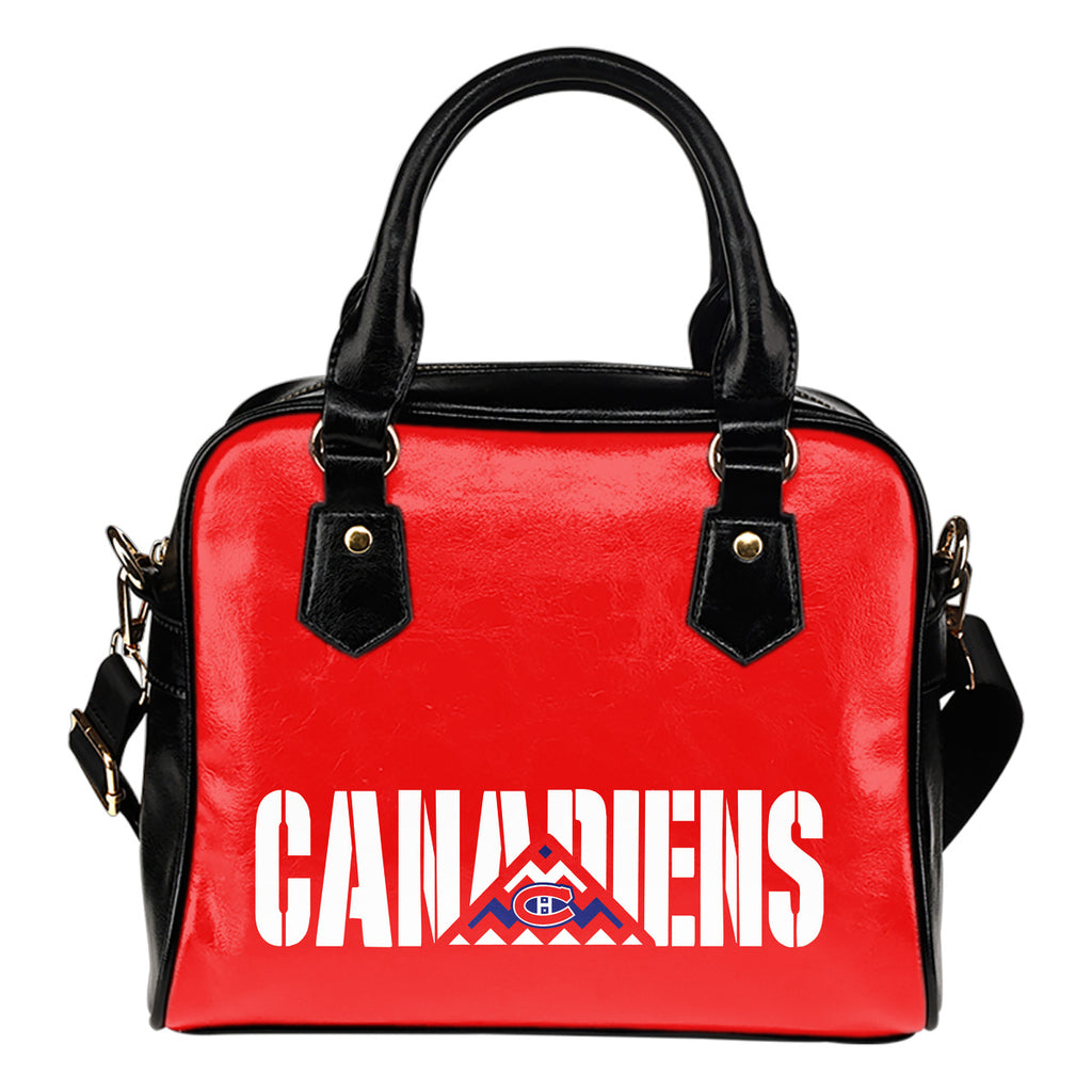 Montreal Canadiens Mass Triangle Shoulder Handbags