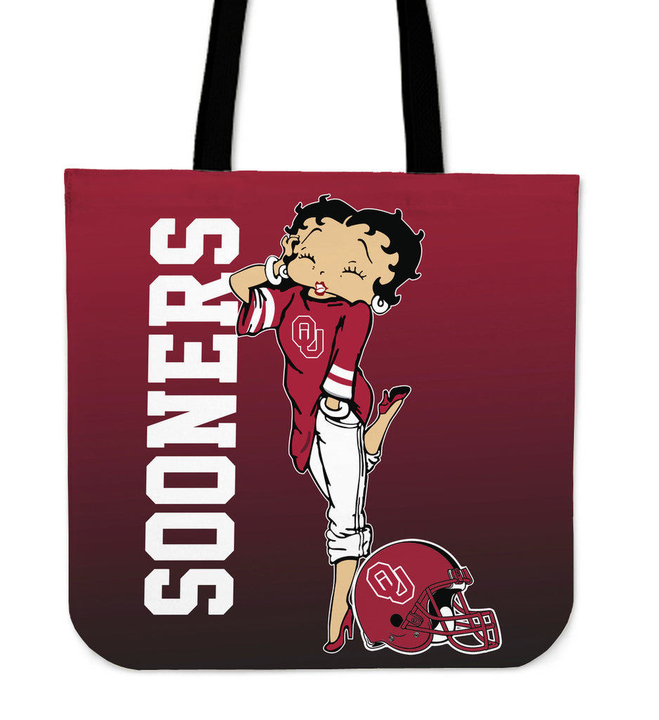 BB Oklahoma Sooners Tote Bag For Women - Best Funny Store