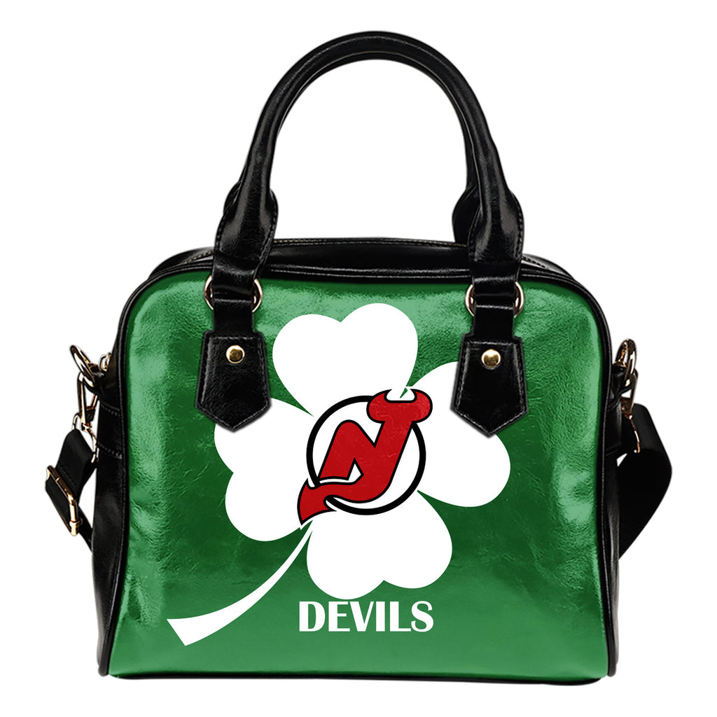 New Jersey Devils Blowing Amazing Stuff Shoulder Handbags