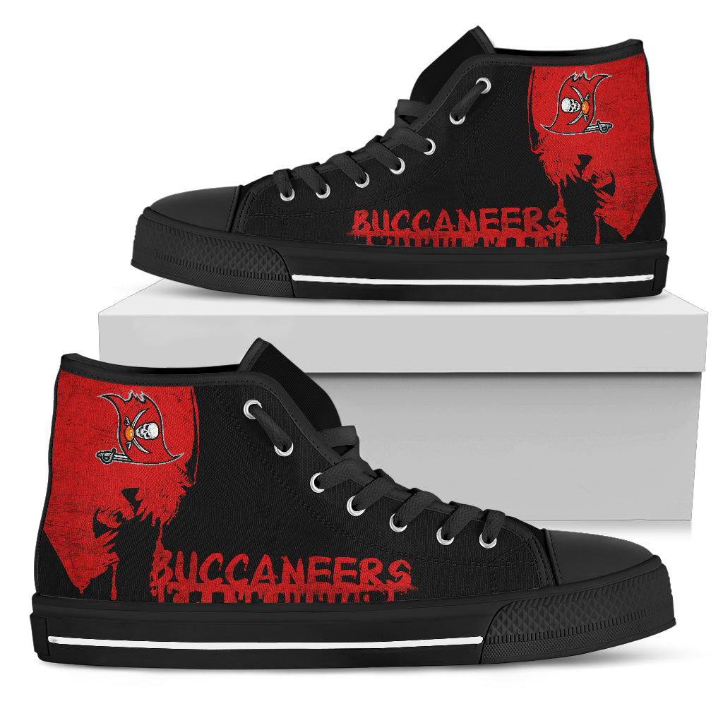 Alien Movie Tampa Bay Buccaneers High Top Shoes