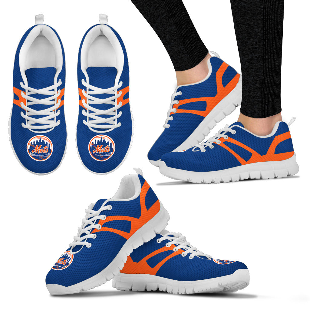 Line Amazing Bottom New York Mets Sneakers
