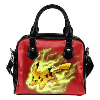 Pikachu Angry Moment St. Louis Cardinals Shoulder Handbags