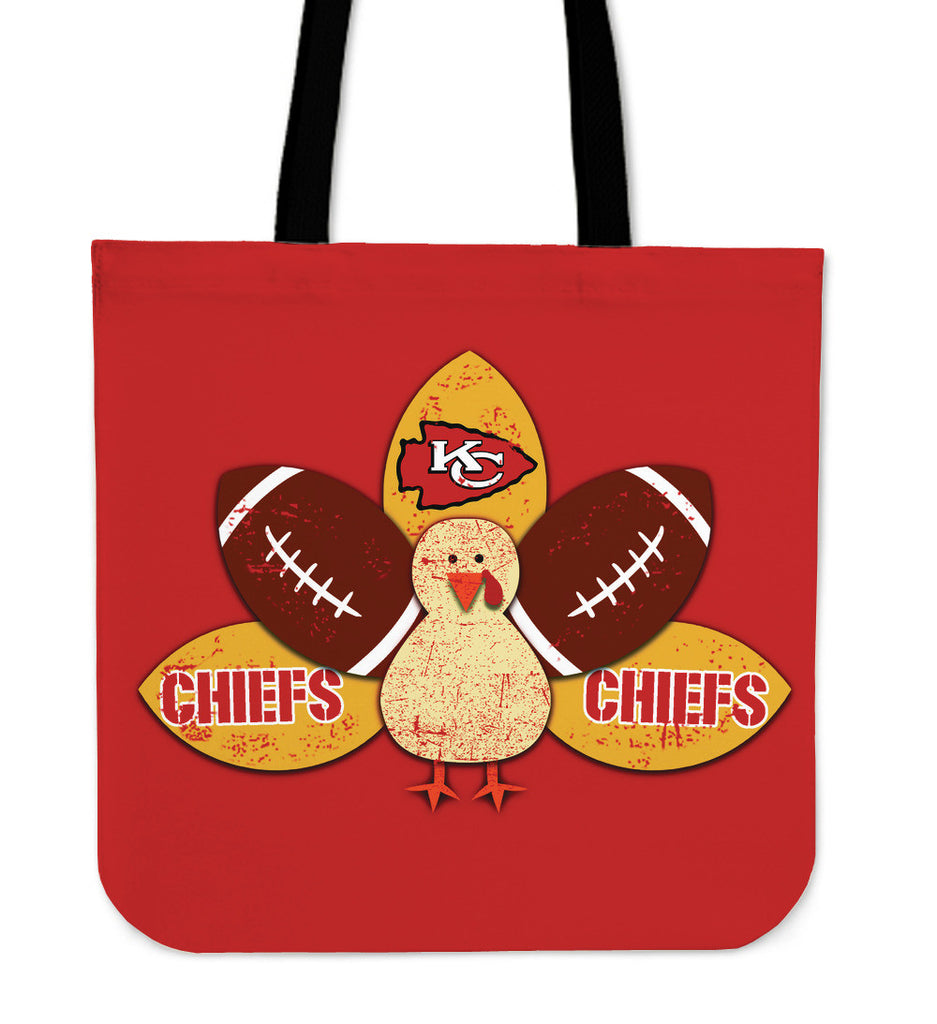 Thanksgiving Kansas City Chiefs Tote Bags - Best Funny Store