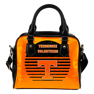 Back Fashion Round Charming Tennessee Volunteers Shoulder Handbags