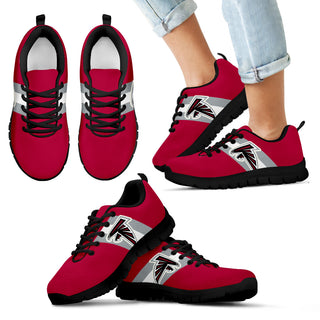 Three Colors Vertical Atlanta Falcons Sneakers