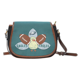 Thanksgiving Philadelphia Eagles Saddle Bags - Best Funny Store