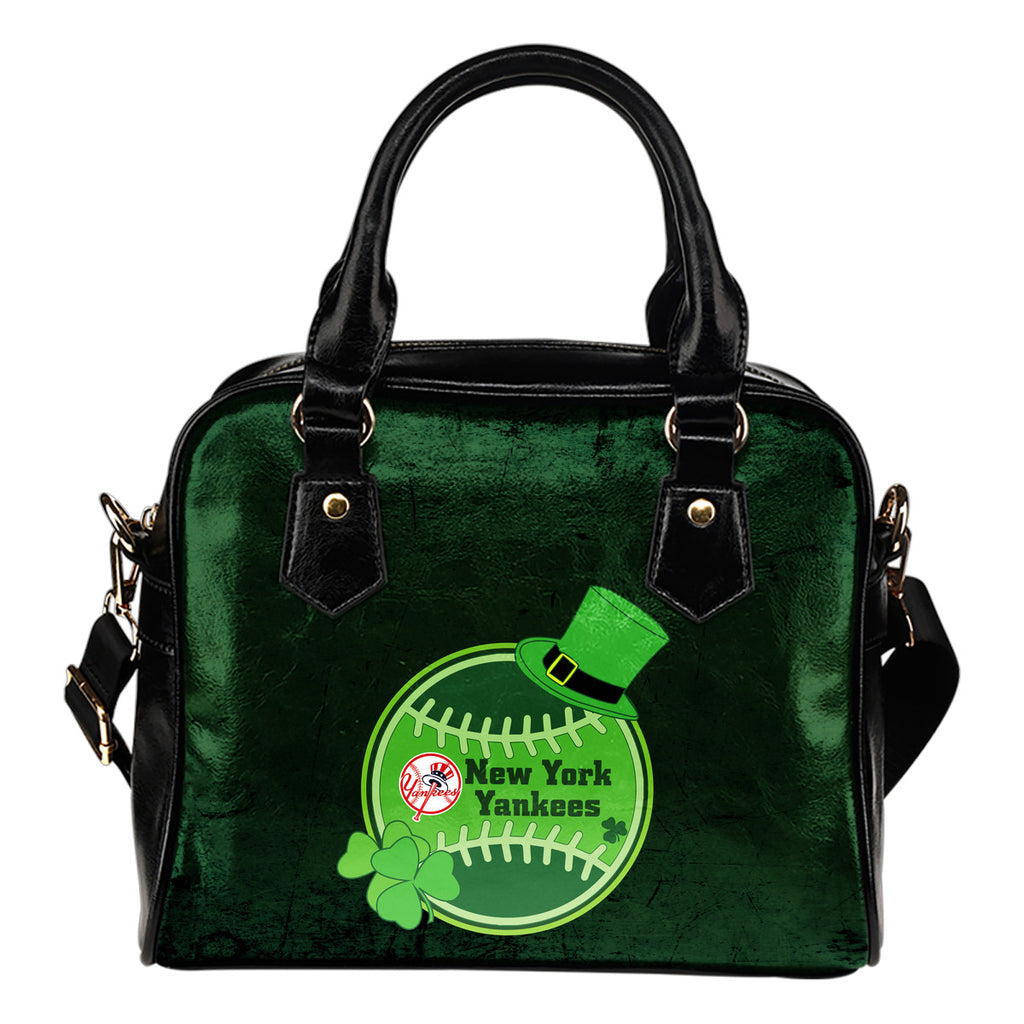 Signal Patrick's Day Pleasant New York Yankees Shoulder Handbags