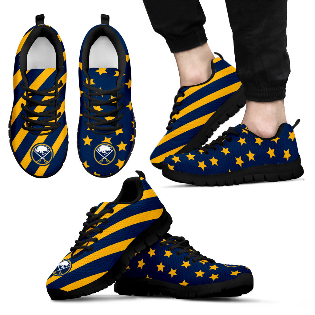 Splendid Star Mix Edge Fabulous Buffalo Sabres Sneakers
