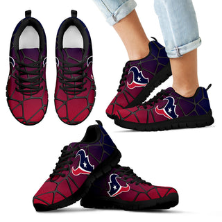 Colors Air Cushion Houston Texans Gradient Sneakers