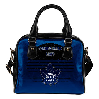 Back Fashion Round Charming Toronto Maple Leafs Shoulder Handbags