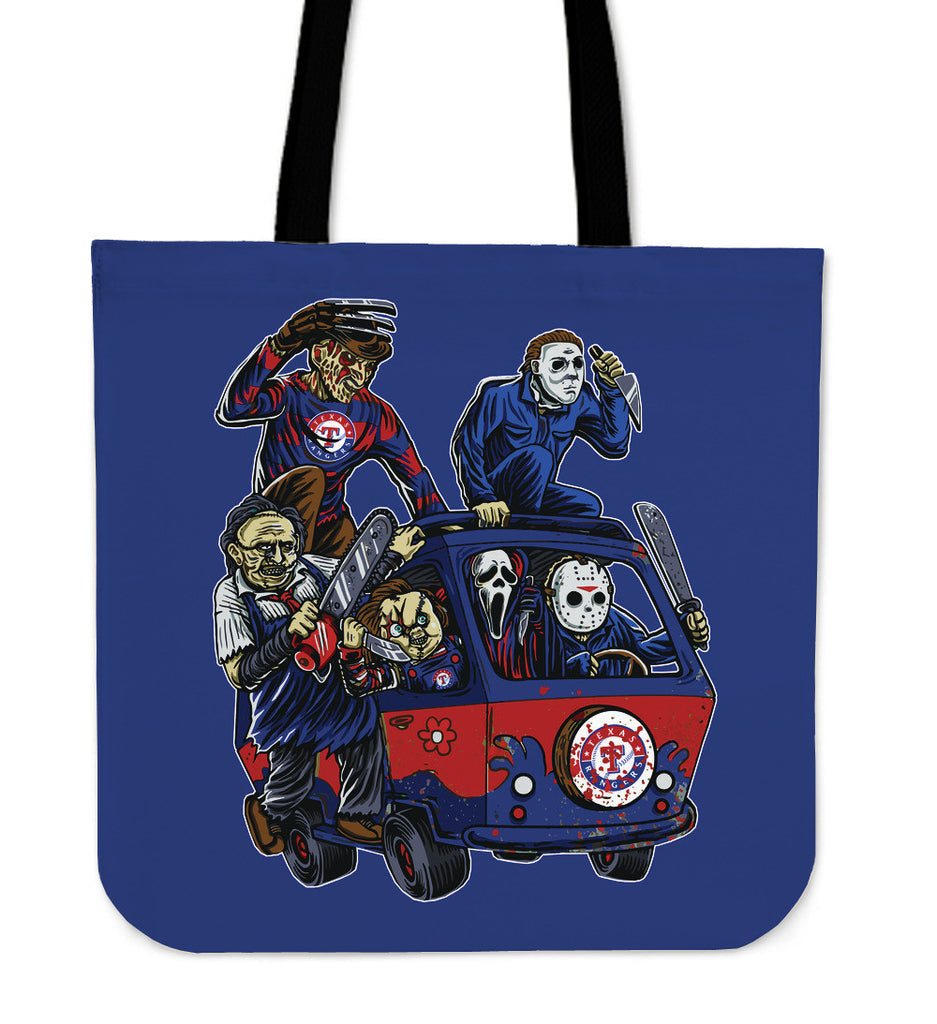 Texas Rangers The Massacre Machine Tote Bag - Best Funny Store