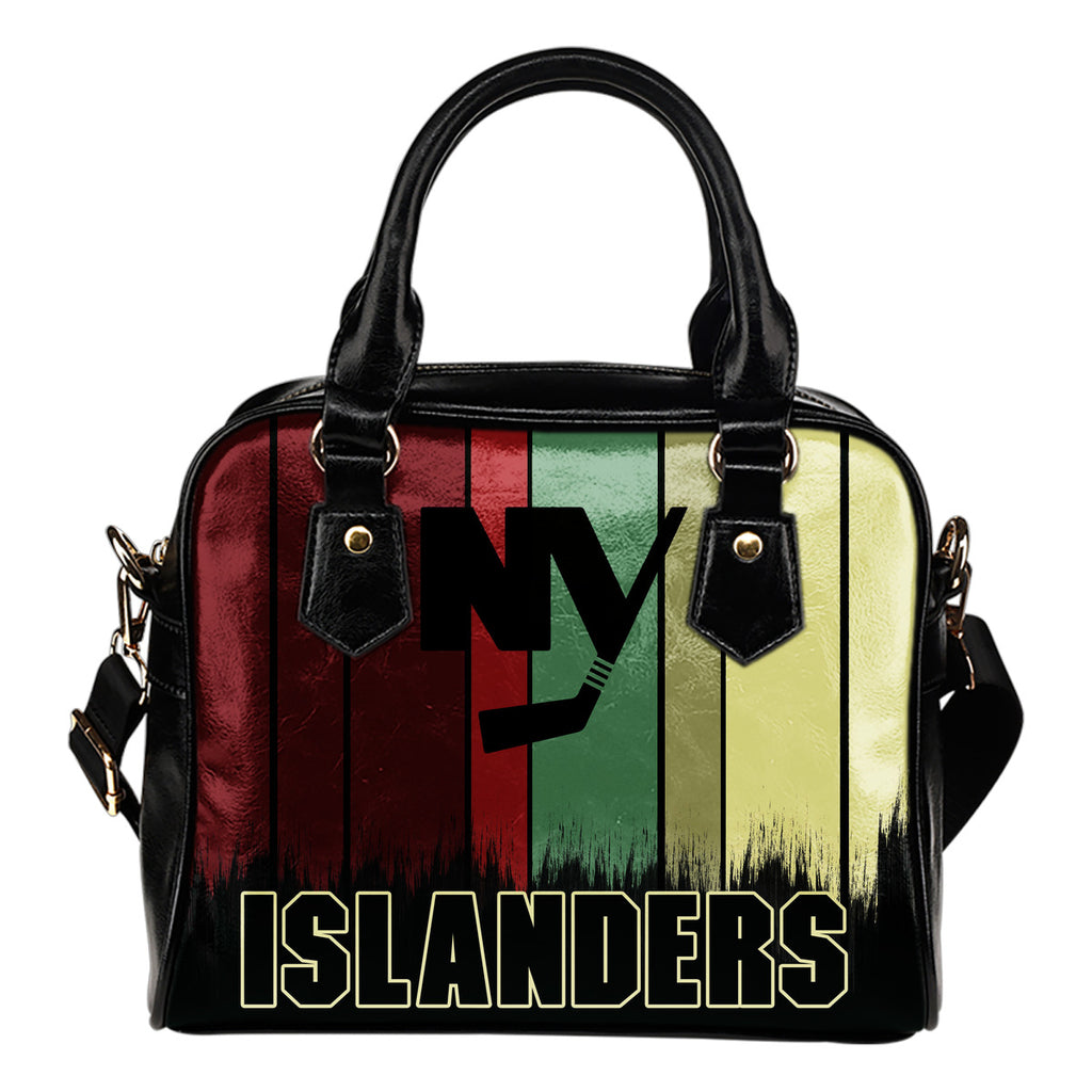 Vintage Silhouette New York Islanders Purse Shoulder Handbag