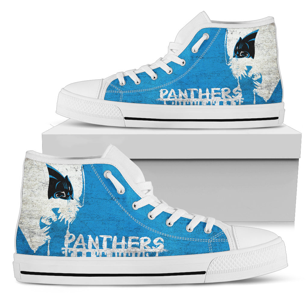 Alien Movie Carolina Panthers High Top Shoes