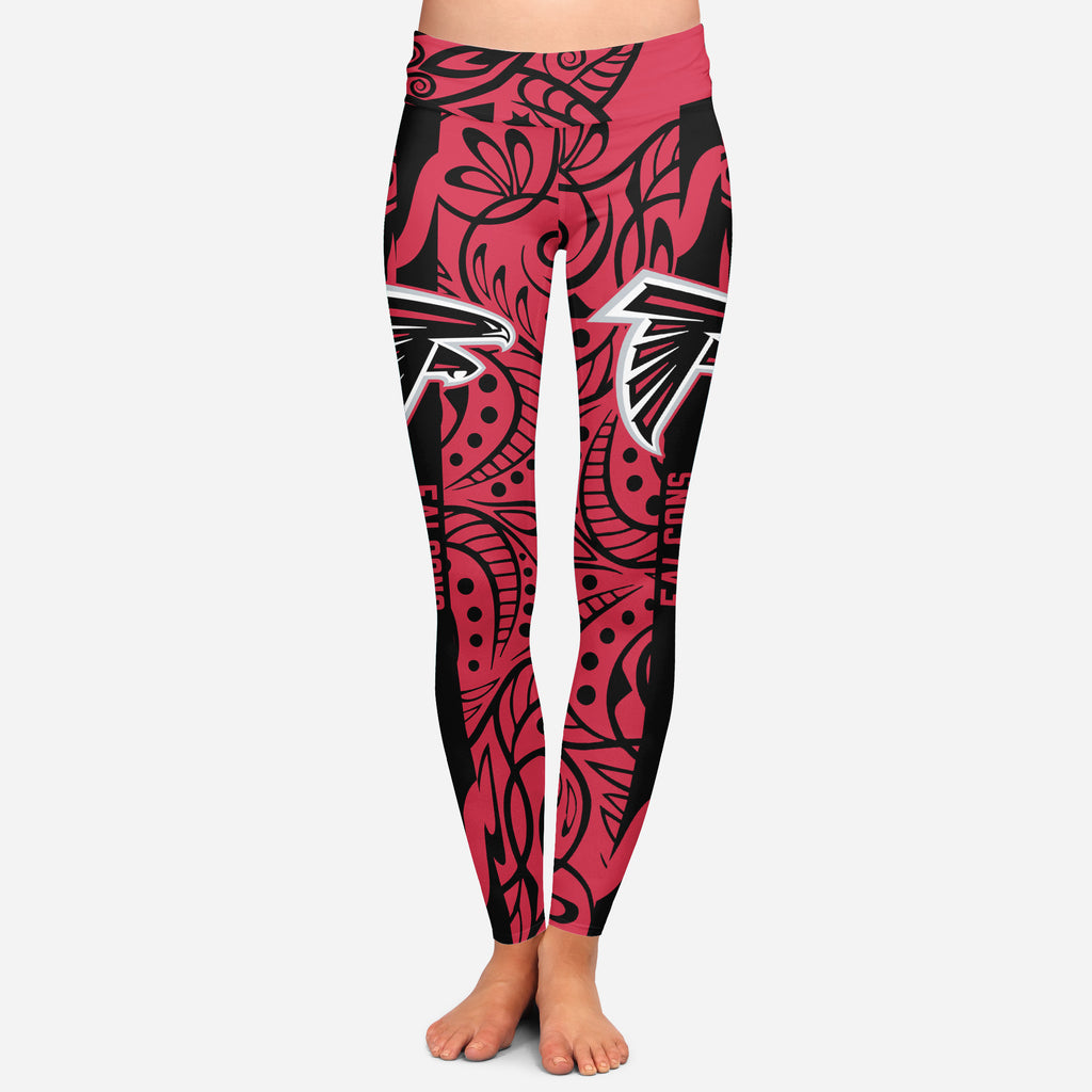 Curly Line Charming Daily Fashion Atlanta Falcons Leggings