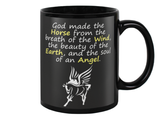 Horse - The Soul Of An Angel Coffee Mug - Best Funny Store