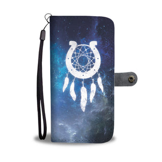 Horseshoe Dreamcatcher Wallet Phone Case