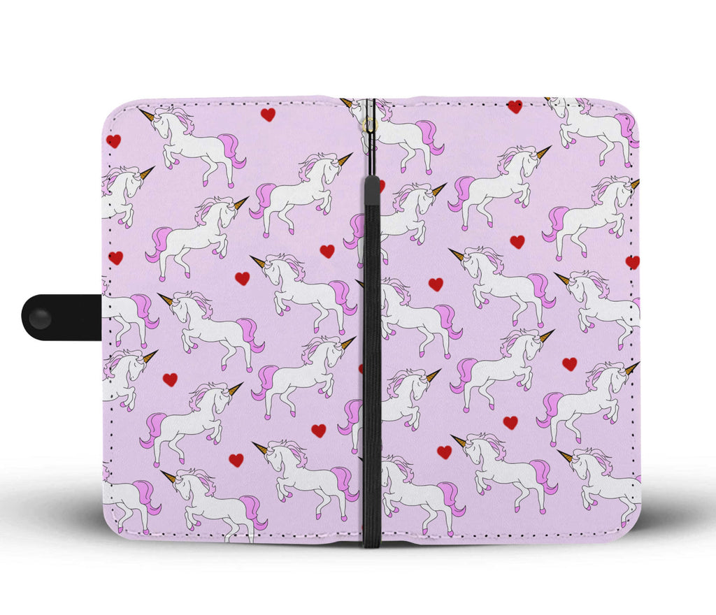 Be A Unicorn Wallet Phone Cases