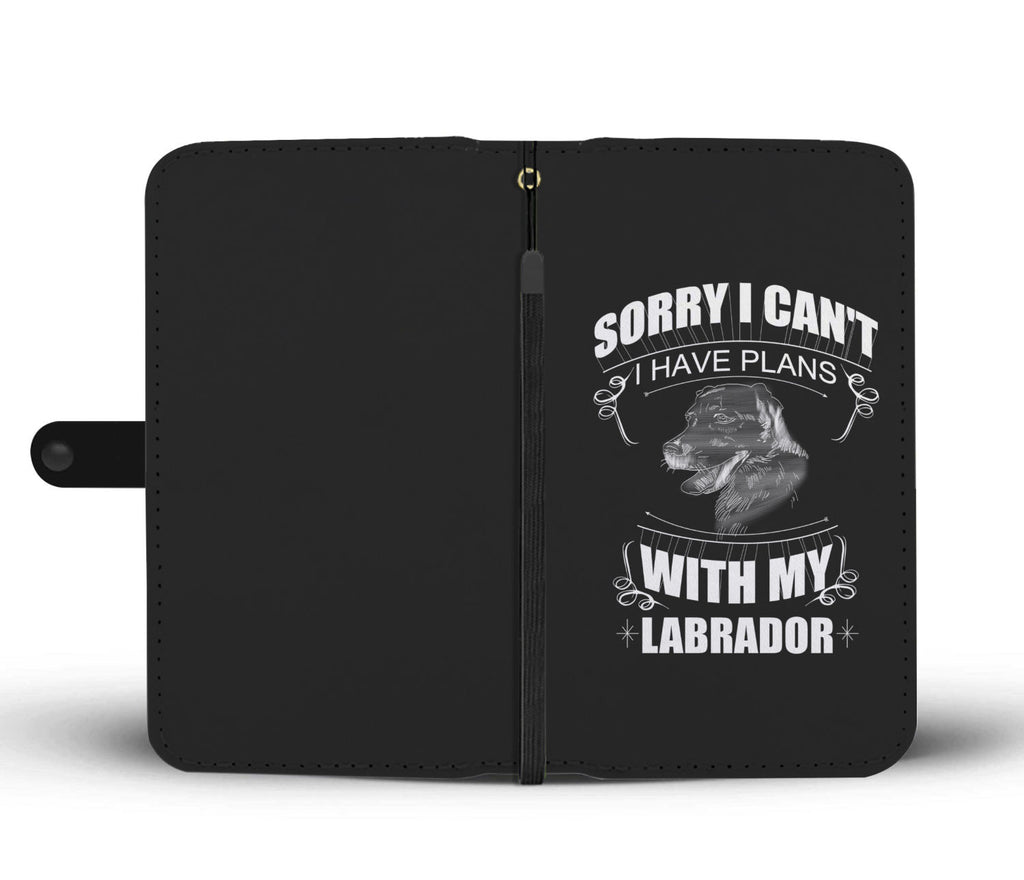 I Have A Plan With My Labrador  Wallet Phone Cases