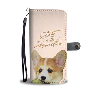 Look At Me Corgi Wallet Phone Cases