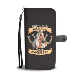 There's Always A Wild Horse Wallet Phone Cases