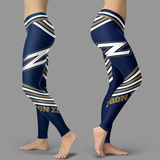 Straight Cute Beautiful Attractive Akron Zips Leggings