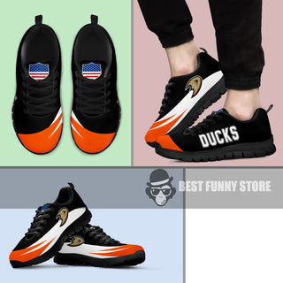 Awesome Gift Logo Anaheim Ducks Sneakers