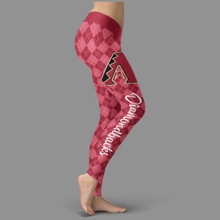 Cosy Seamless Border Wonderful Arizona Diamondbacks Leggings