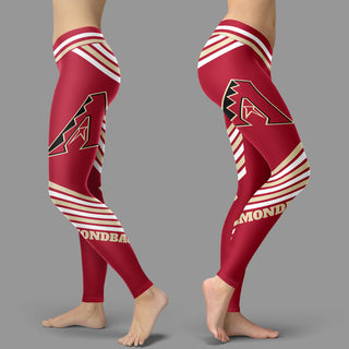 Straight Cute Beautiful Attractive Arizona Diamondbacks Leggings