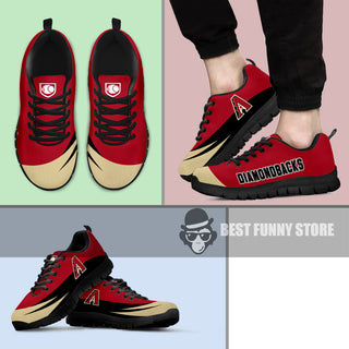 Awesome Gift Logo Arizona Diamondbacks Sneakers