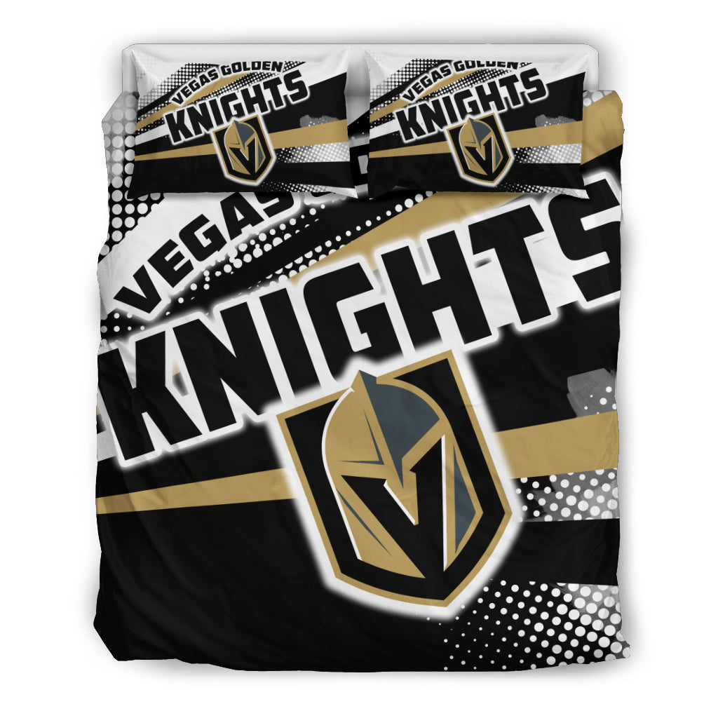Colorful Shine Amazing Vegas Golden Knights Bedding Sets