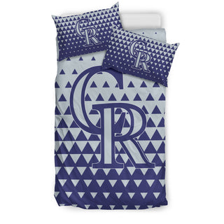 Full Of Fascinating Icon Pretty Logo Colorado Rockies Bedding Sets