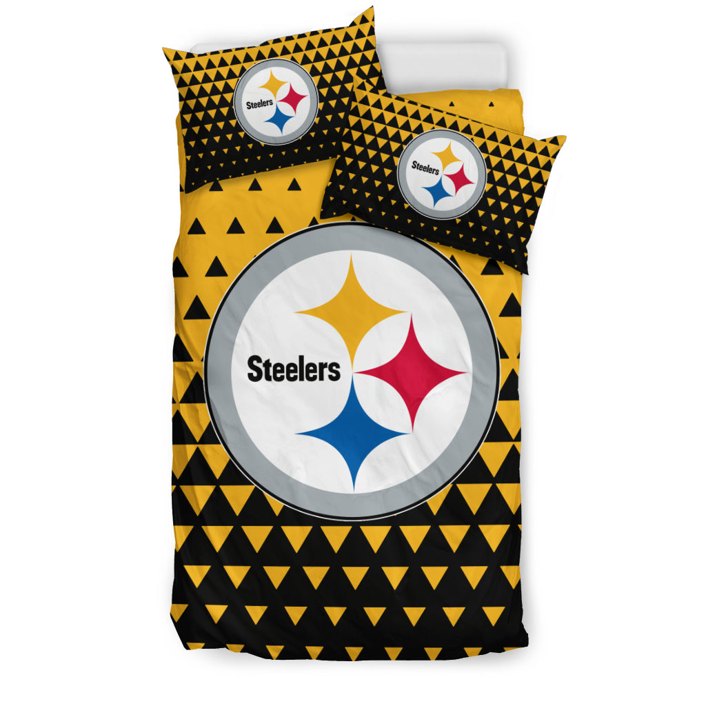 Full Of Fascinating Icon Pretty Logo Pittsburgh Steelers Bedding Sets