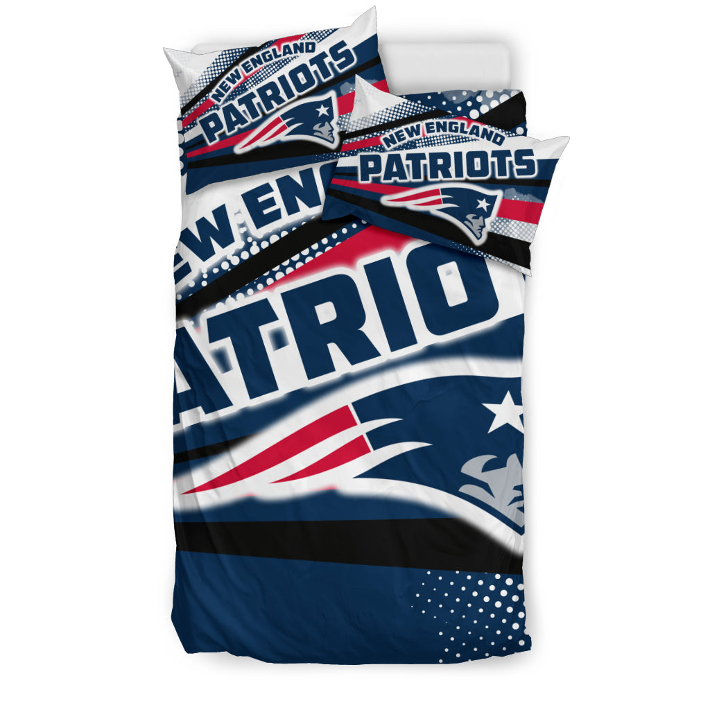 Colorful Shine Amazing New England Patriots Bedding Sets Best Funny Store
