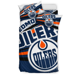 Colorful Shine Amazing Edmonton Oilers Bedding Sets