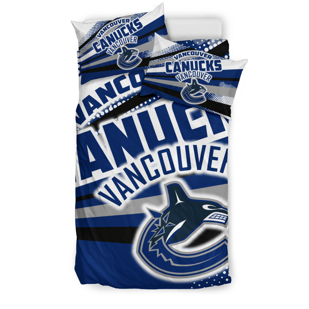 Colorful Shine Amazing Vancouver Canucks Bedding Sets
