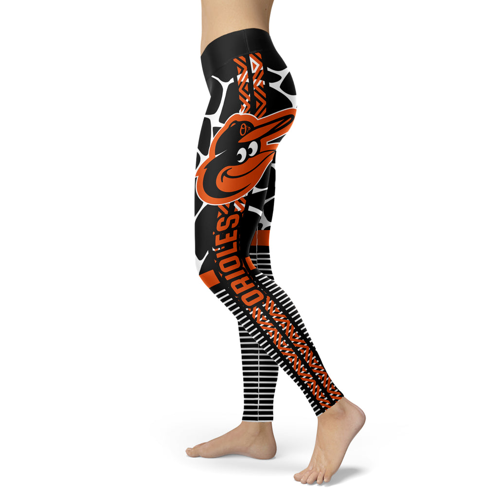 Cool Air Lighten Attractive Kind Baltimore Orioles Leggings