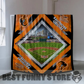 Pro Baltimore Orioles Stadium Quilt For Fan