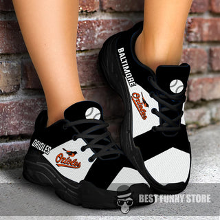 Pro Shop Logo Baltimore Orioles Chunky Sneakers