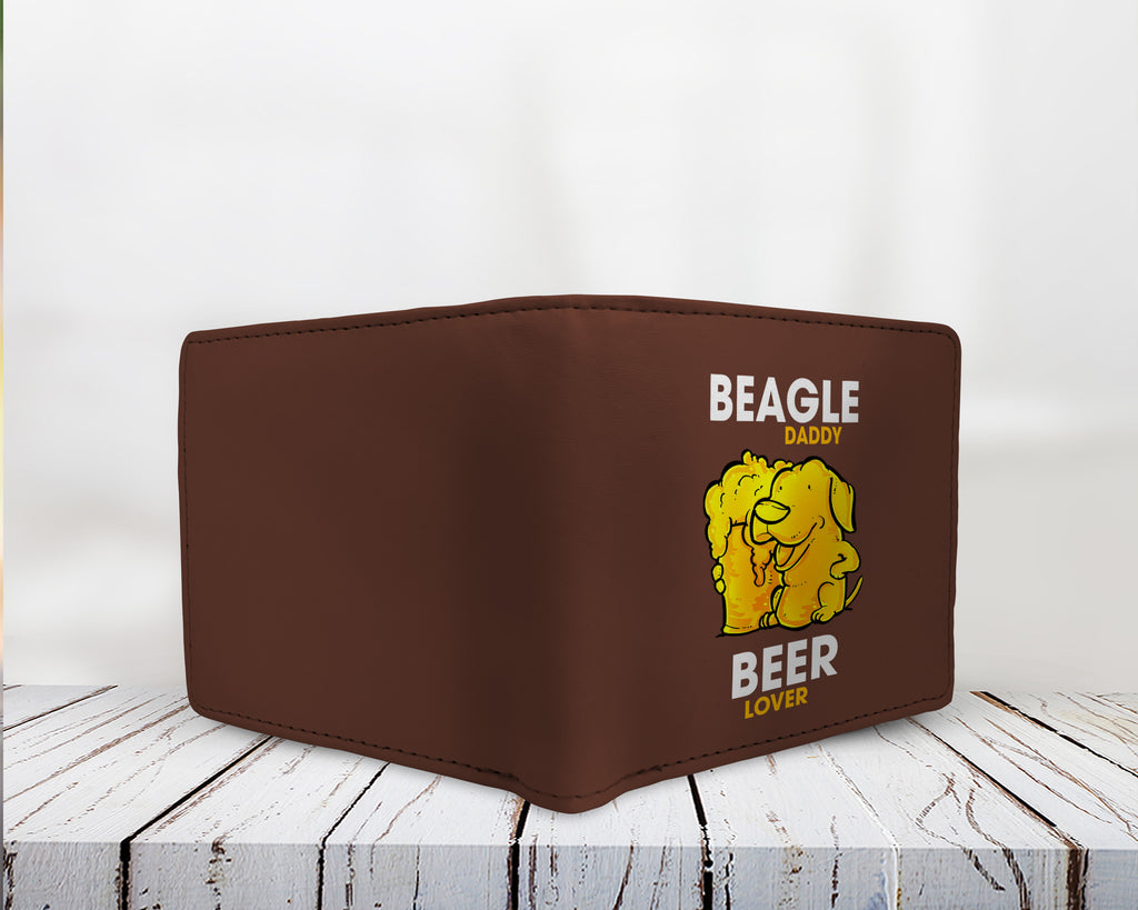 f2cb6fe80 Beagle Daddy Beer Lover Men's Wallets – Best Funny Store
