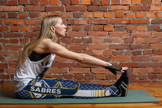 Single Small Line Circle Stylish Fashion Buffalo Sabres Leggings