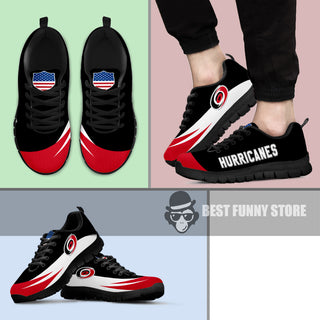 Awesome Gift Logo Carolina Hurricanes Sneakers