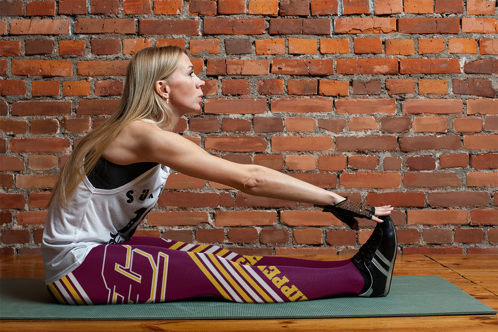 Straight Cute Beautiful Attractive Central Michigan Chippewas Leggings