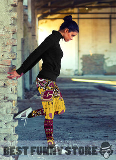 Simple Boho Central Michigan Chippewas Leggings