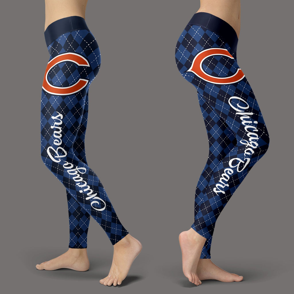 Cosy Seamless Border Wonderful Chicago Bears Leggings
